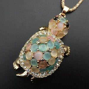 Turtle Long Necklace